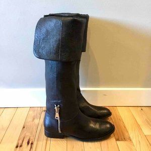 Chinese Laundry Fawn Riding Boots Black 7.5